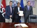 Unión Europea respalda modernización de los Pasos de Frontera de Nicaragua.