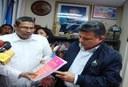 Ministro de Hacienda presenta el PGR-2010 y Ley de Concertación Tributaria a la AN