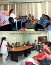 En Hacienda, en saludo a la Jornada del Mes de la Madre, funcionarias y funcionarios públicos reciben charlas de salud preventiva