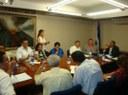 Ministro de Hacienda se reúne con representantes de trabajadores  de todo el país