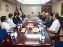Misión de Consejeros del BID visitan Nicaragua y son recibidos por autoridades del Gobierno de Reconciliación y Unidad Nacional en el Ministerio de Hacienda y Crédito Público