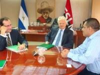 Nuevo Jefe de Misión del FMI se presenta ante Ministro de Hacienda