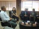 Viceministro de la Dirección General de la Administración de Personal de China Taiwán visita a Ministro de Hacienda