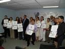 Emotiva Graduación de maestrantes dedicada al Dr. José María Saravia