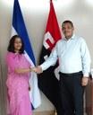 Ministro de Hacienda recibe a embajadora concurrente de la India