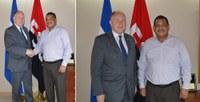 Embajador del Reino Unido se reúne con Ministro de Hacienda y Crédito Público