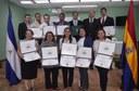Servidor@s Públic@s del MHCP y ENEL se gradúan en Diplomado de Contrataciones Públicas