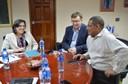 Visita nueva Gerente Regional del BID para centroamérica