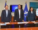 Un minuto de silencio para el Dr. SIlvio Conrado Gómez, Presidente del BCIE recientemente fallecido.