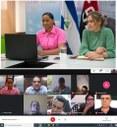 Empresarios de turismo con ministro de Hacienda y co-directora del INTUR