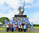 Servidoras y servidores públicos de Hacienda saludan las fiesta patrias con visita a hacienda San Jacinto
